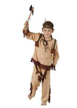 Disfraces para niños  india