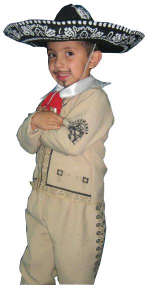 Disfraces para niños mariachi