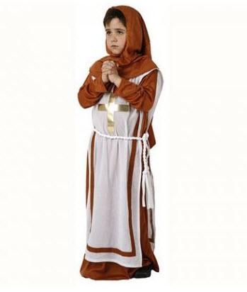 Disfraz para niños monja