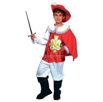 Disfraz para  niños mosqueteros