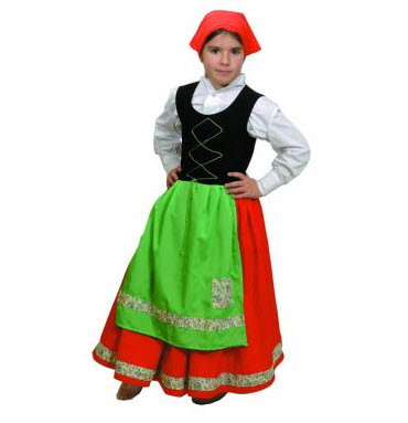 Disfraz  para niños  pastora