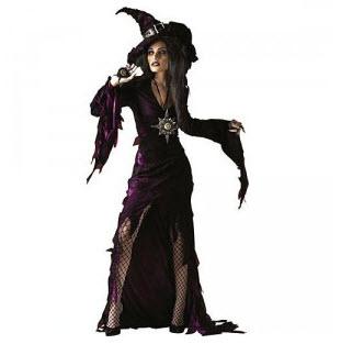Disfraz para  adultos  bruja
