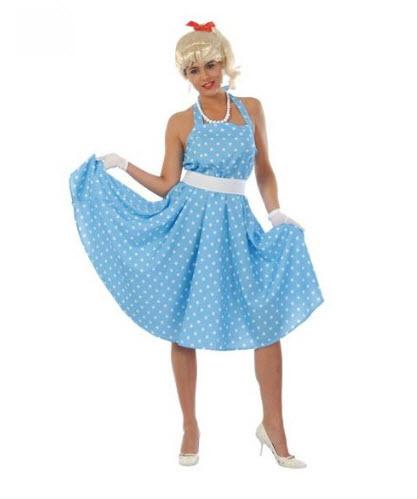 Disfraz para adultos chica años 60