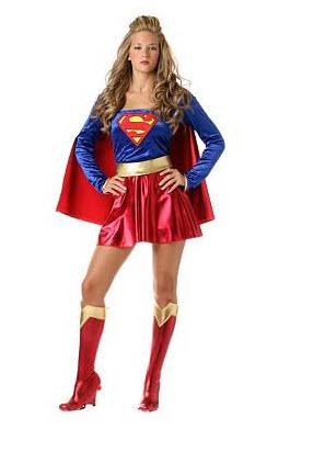 Disfraz para adultos superman version  chica
