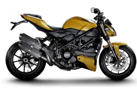 La nueva Ducati Streetfighter 848 2012