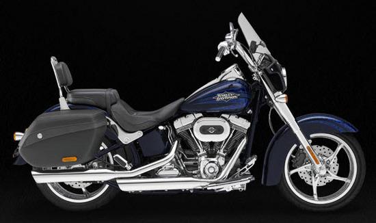Harley Davidson Cvo Softail Convertible, azul
