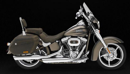 Harley Davidson Cvo Softail Convertible, negro