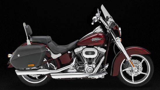Harley Davidson Cvo Softail Convertible, rojo