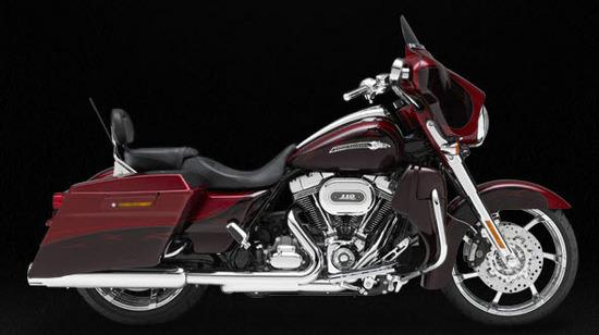 Harley Davidson Cvo Street Glide, rojo