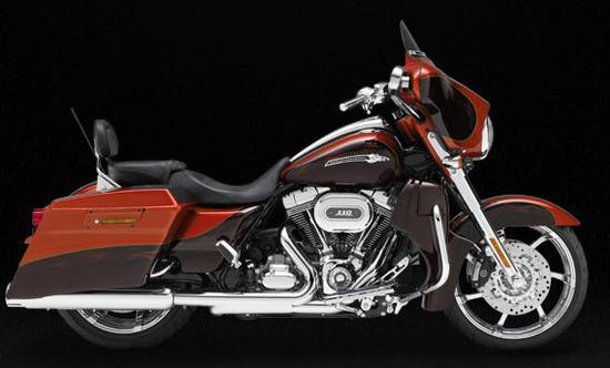 Harley Davidson Cvo Street Glide, citrus