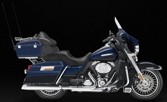 Harley Davidson Electra Glide Ultra Limited, azul - negro