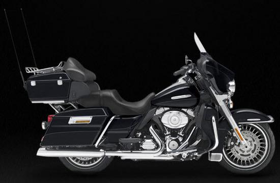 Harley Davidson Electra Glide Ultra Limited, negro