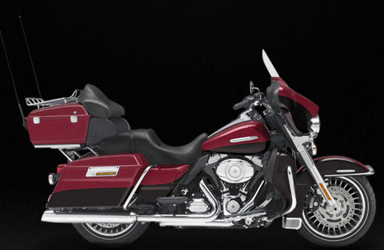 Harley Davidson Electra Glide Ultra Limited, rojo