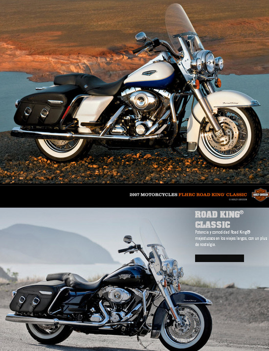 Harley Davidson, Road King Classic