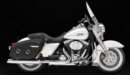 Harley Davidson Road King Classic, blanco