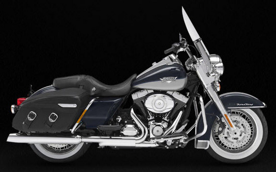 Harley Davidson Road King Classic, negro - gris