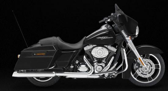 Harley Davidson Street Glide, negro