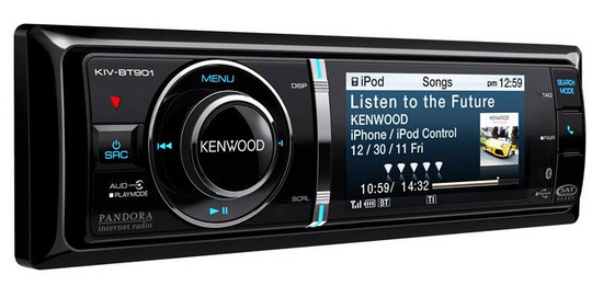 Kenwood Car Audio, KIV-BT901