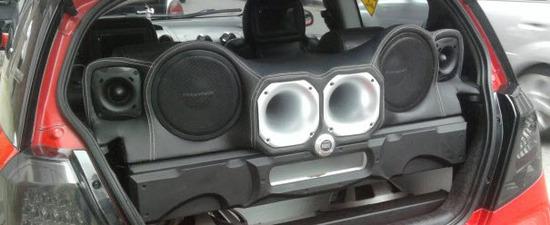 Lujos para Carros, Diseño de cajas acústicas