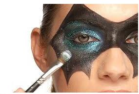 Maquillaje para disfraces de Halloween antifaz 2015