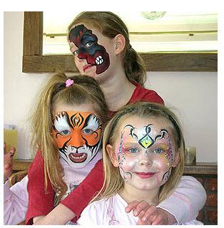 Maquillaje Halloween  niñas