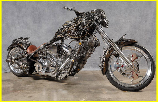 Motos Custom, Chopper