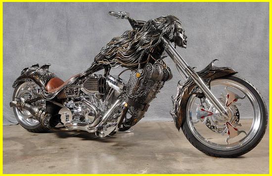 Motos Custom, Chopper