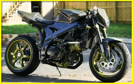 Motos Custom, Street Fighter