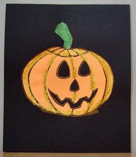 Tarjetas Halloween calabaza
