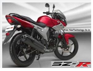 Yamaha SZ-R 153 2011