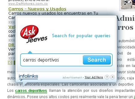 infolinks publicidad In-Text