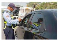 Precios de las multas a conductores, del código 74 al código 90