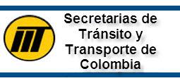 Dirección Secretarías de Tránsito y Transporte en Colombia