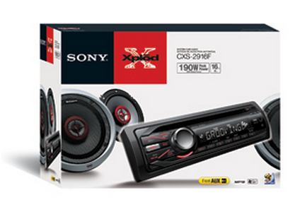 Sony Car Audio, Radio y 2 Altavoces