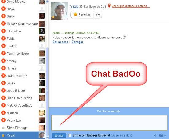 не отправляет сообщения в badoo