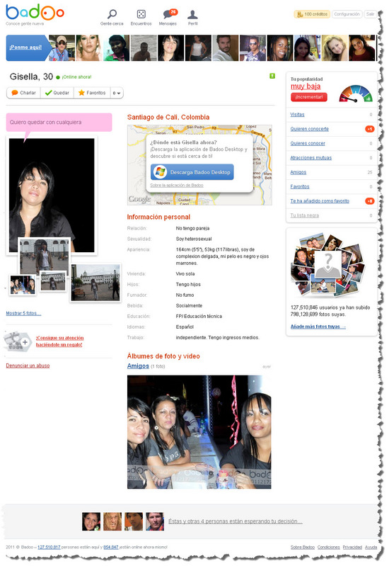 BadOo.com Chat