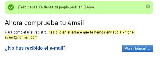 BadOo.com registrarse 3