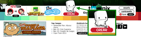 Cartoon Network.com Paso 1 para registrarse