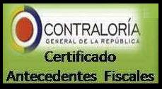 Consultar certificados de Antecedentes Fiscales en Colombia 2013