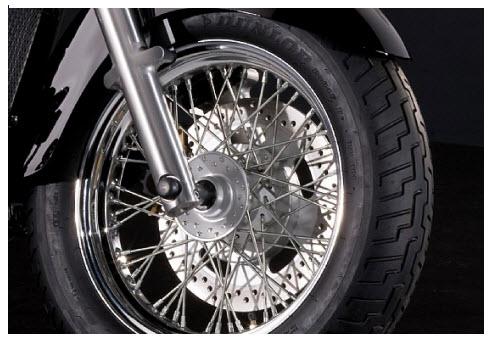kawasaki VN900 Classic ruedas de radio