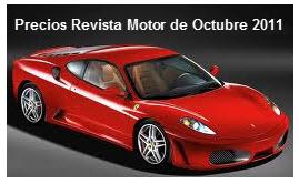 Precios Revista Motor Importados 2011
