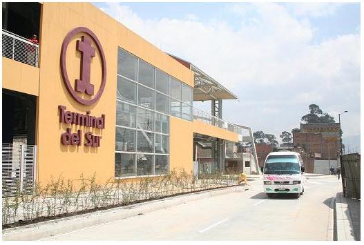 La terminal de transporte de bogota