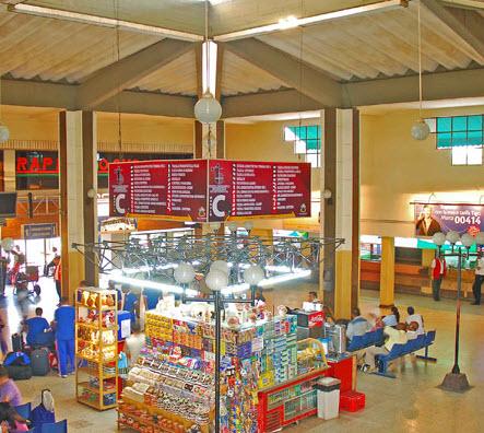 interior del terminal de barranquilla