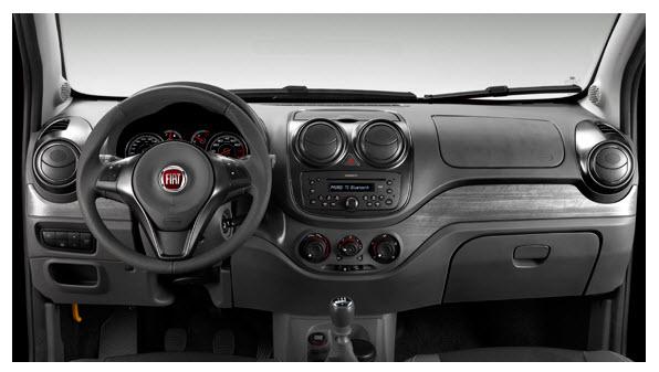 Fiat Palio 2012, diseño interior
