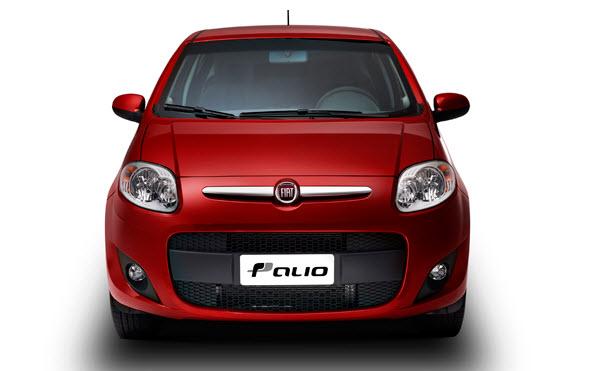 Fiat Palio 2012, vista frontal