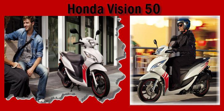 Honda Vision 50 2012