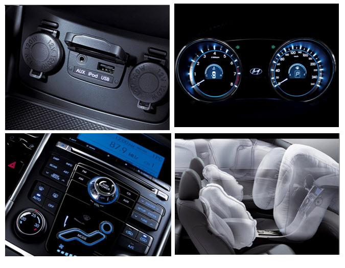 Hyundai i45 , diseño interior