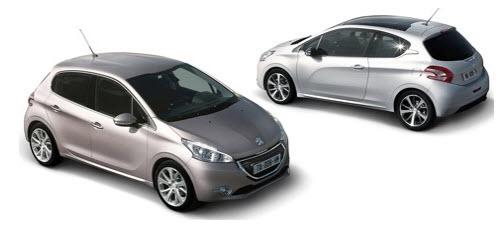 Peugeot 208 2012, estilos