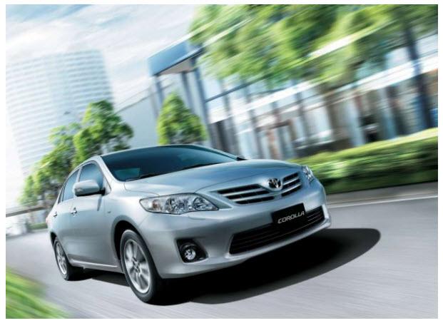 Toyota Corolla SE-G  2012