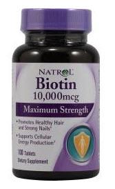Crecimiento de las pestañas - Biotin